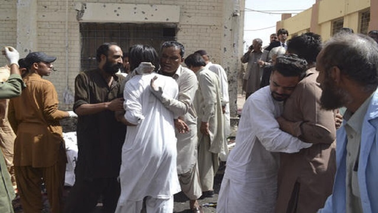 Bombing at Pakistani hospital kills 42