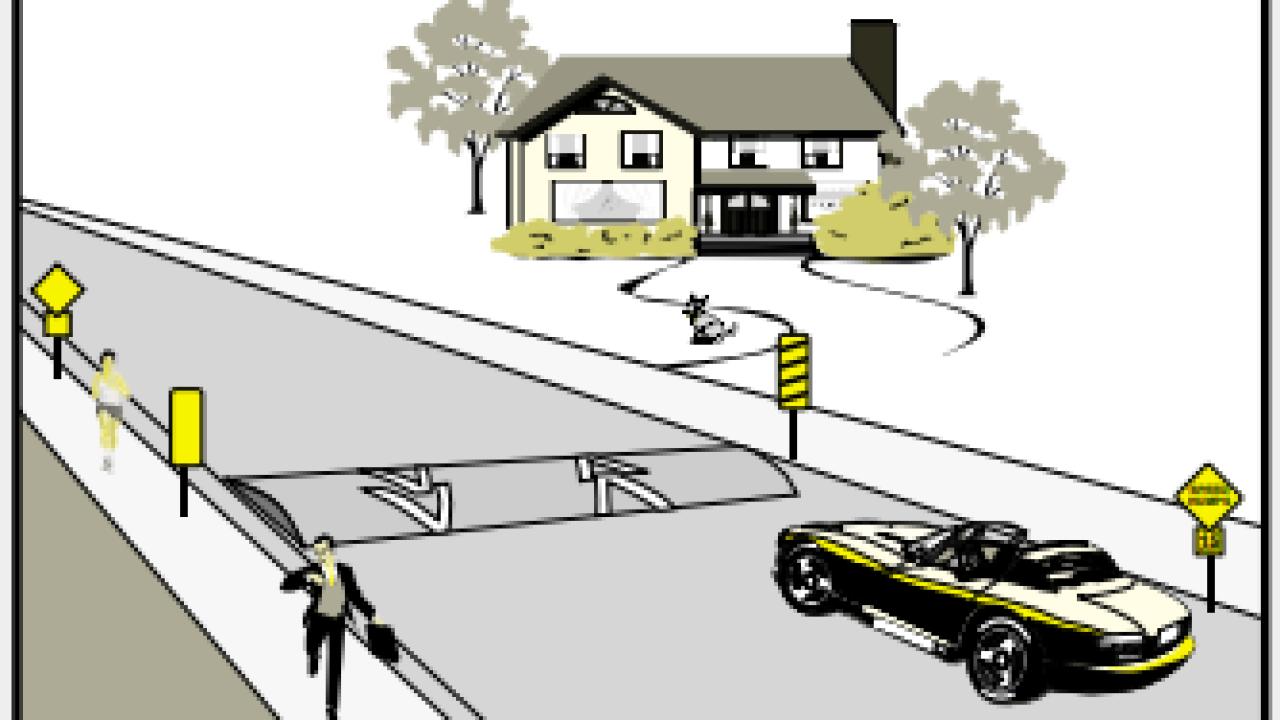 Neighborhood Speed Humps