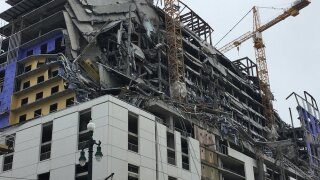 New Orleans hotel under construction collapses