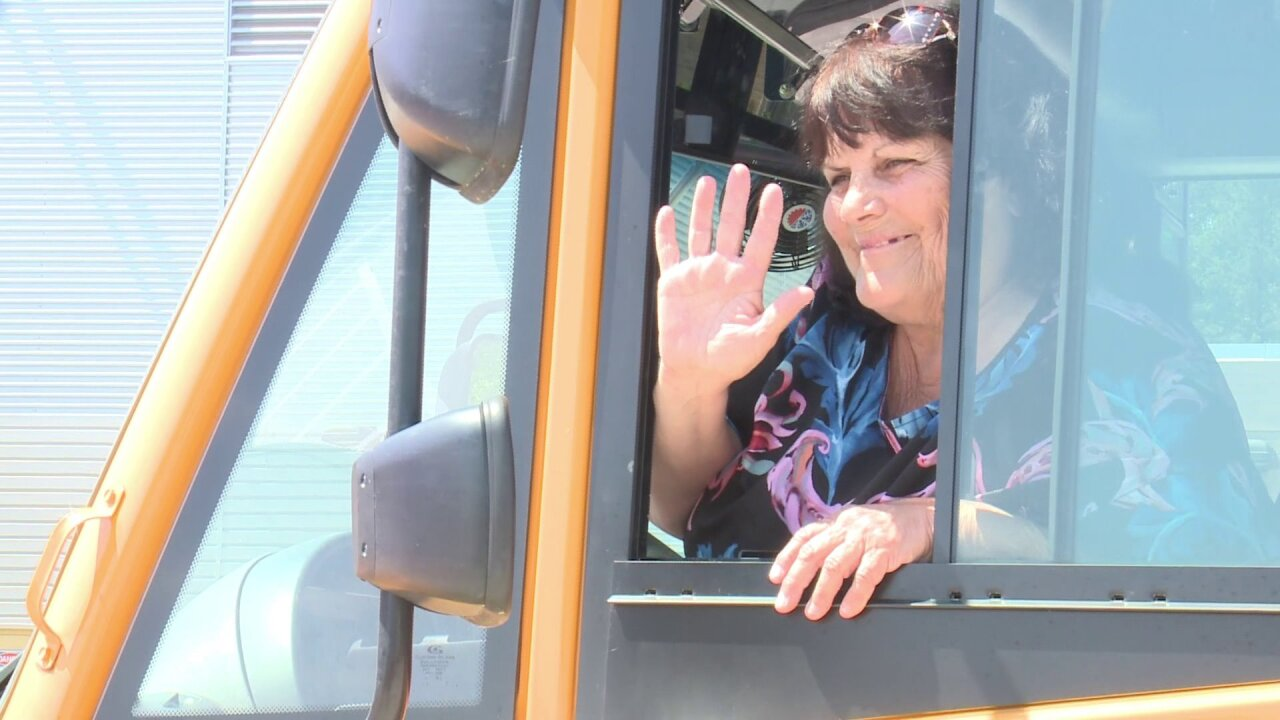 Something in the Water volunteer bus driver says 'I'll do itagain!'