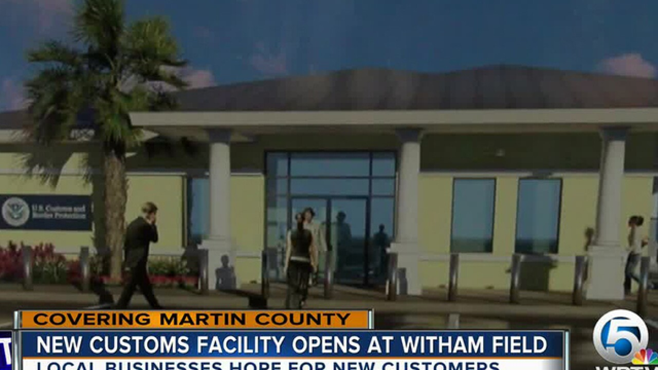 New U.S. Customs facility in Martin County