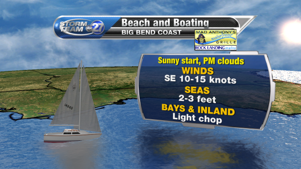 Beach and Boating forecast A (05/03/2017)