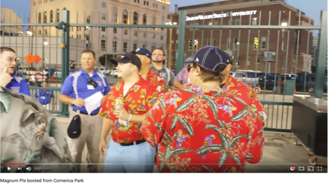 Magnum, P.I. lookalikes kicked out of MLB game