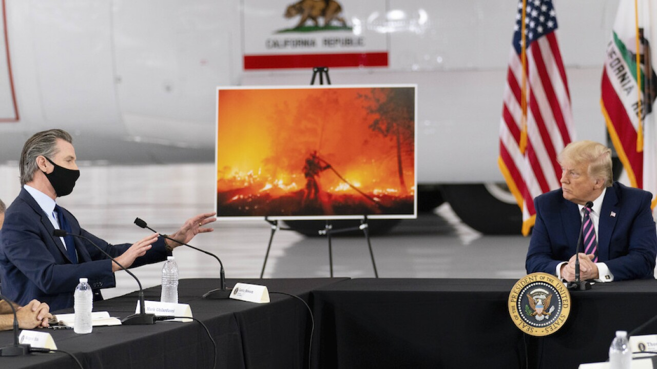 Trump administration rejects California's request for wildfire disaster assistance, reports say