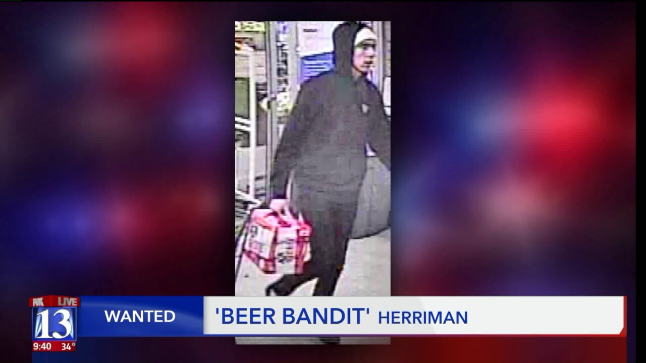 Wanted with Scott McKane: Theft from Murray library and beer stolen in Herriman