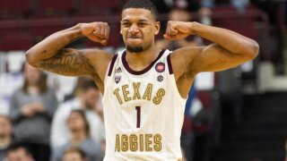TEXAS A&M MEN'S BASKETBALL SAVION FLAGG.jfif