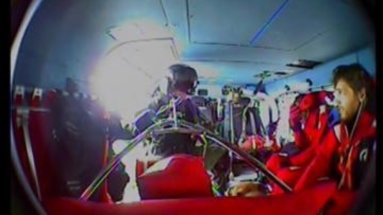 Three fishermen and dog airlifted from high seas off Wachapreague; boat remainsadrift