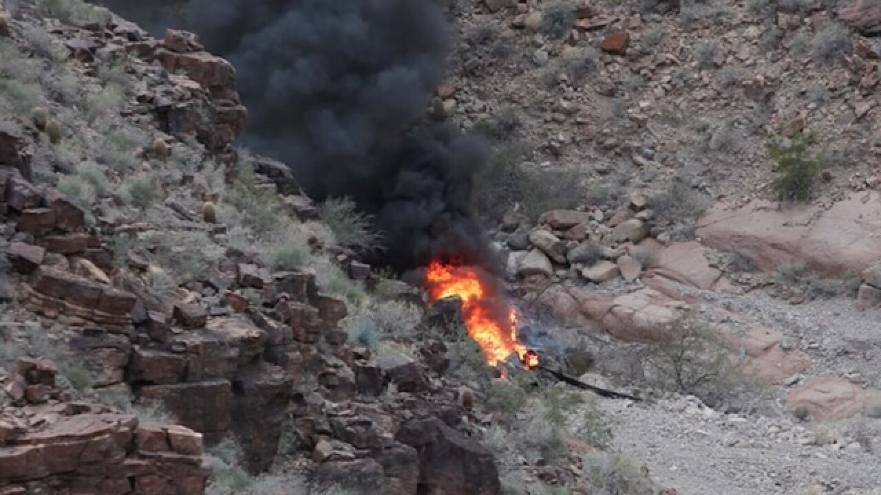 PD: Winds hampering Grand Canyon rescue effort
