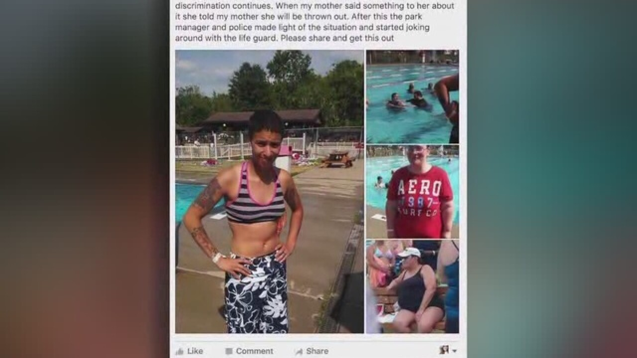 Transgender man 'humiliated' at public pool