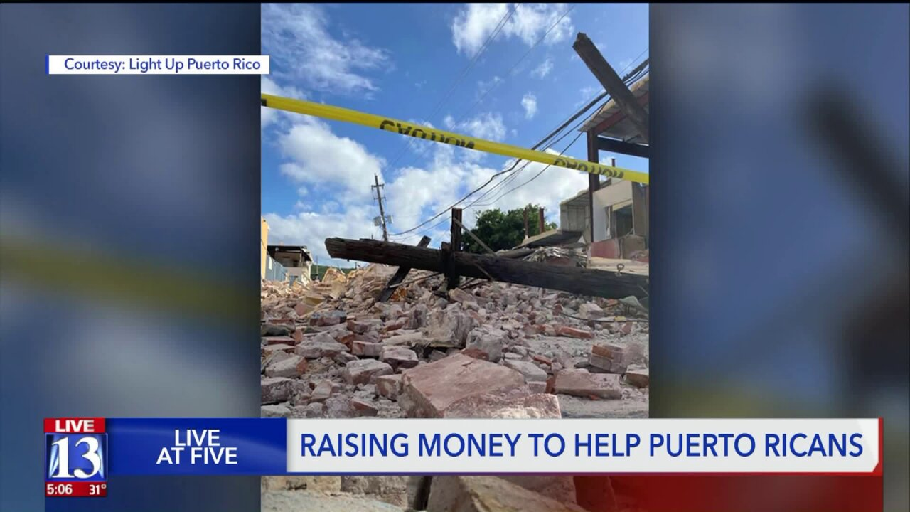Herriman woman working to bring light to Puerto Rico amid devastation