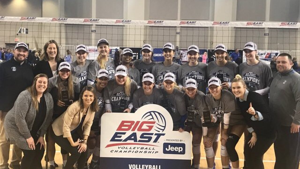 Creighton volleyball team wins 5th straight BIG EAST championship