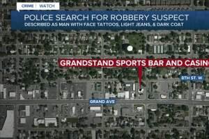Billings police investigate casino robbery