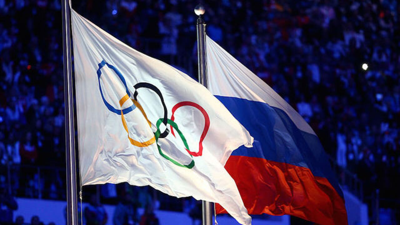 Olympic ban for Russian track and field team