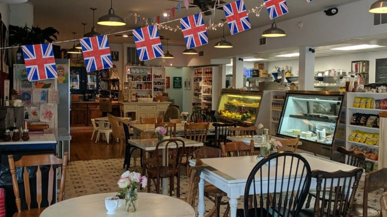 Telly, tea, and the royal wedding: English shop to host royal wedding watch party