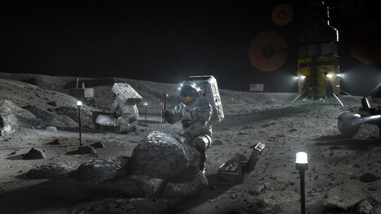 NASA seeking companies to help mine the moon