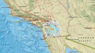3.9 magnitude earthquake hits near Borrego Springs