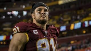 Redskins place linebacker Ryan Kerrigan on Injured Reserve, ending his 2019season