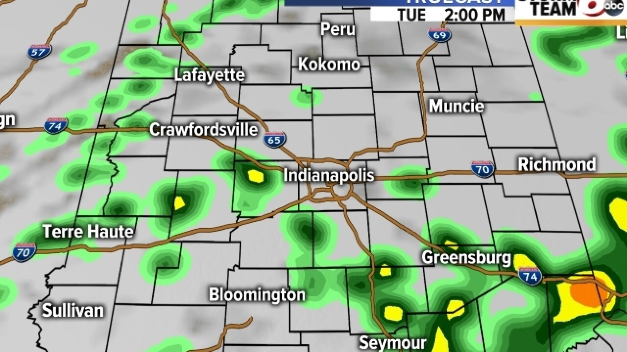TIMELINE: When will you start to see the rain?