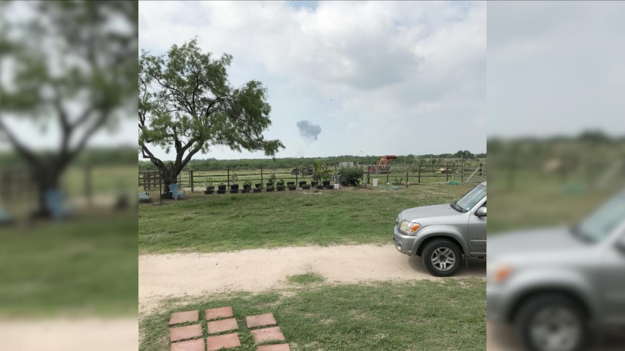 Environmental team joins efforts at site of Navy training jet crash
