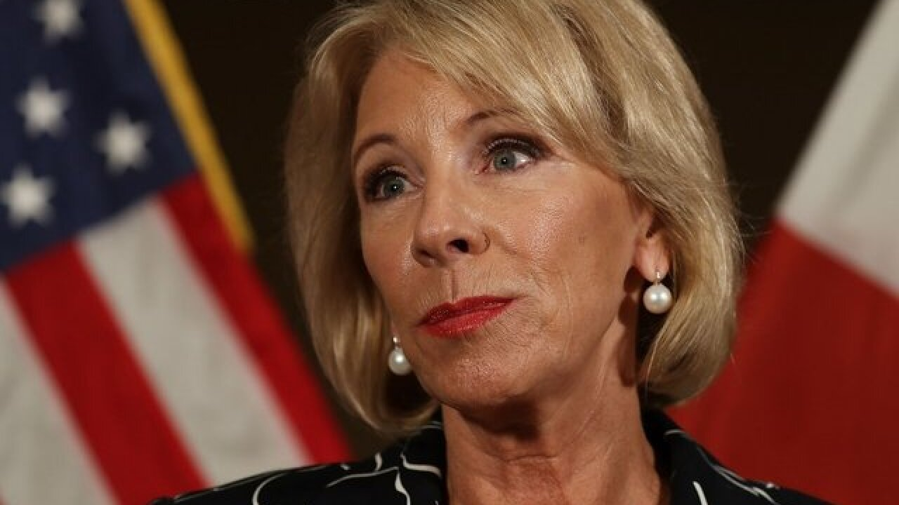 White House officials alarmed at Betsy Devos' '60 Minutes' performance