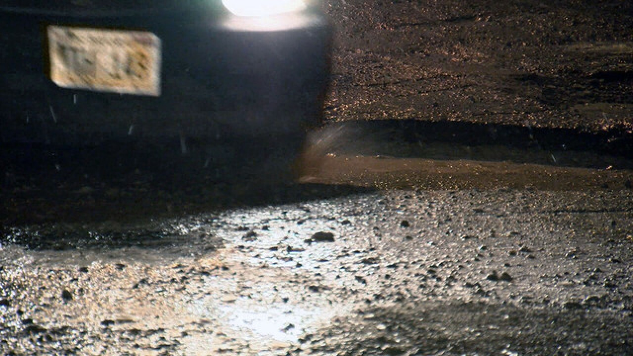 PHOTOS: Problem potholes in the Omaha area