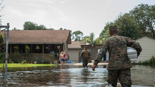 PHOTOS: Colorado Springs-based US Northern Command helping victims of Harvey