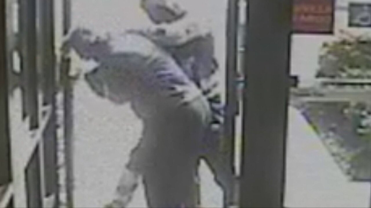 Video shows woman attacked outside Chesterfieldbank