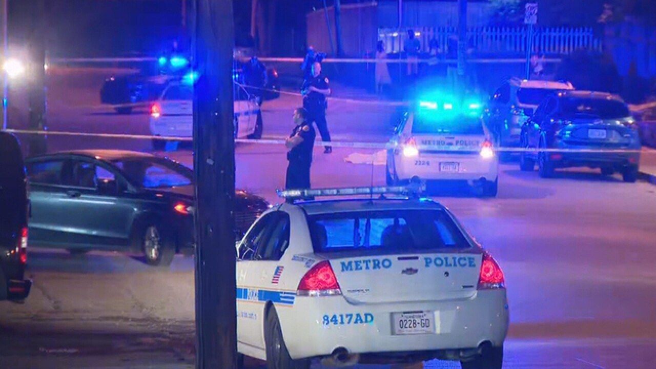 Police Respond To East Nashville Shooting