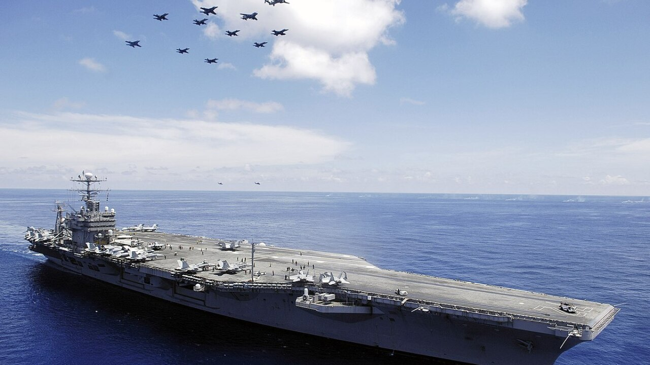 Carrier of the Month: News 3 visits four aircraft carriers at Naval StationNorfolk