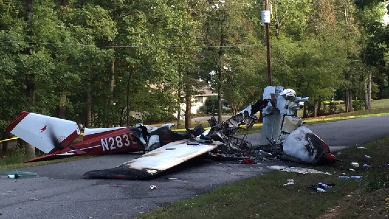 Man, woman hurt after small plane crashes in Bedford County