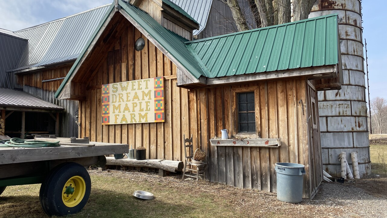 Sweet Dream Maple Farm hoping for community support while recovering from a tough year