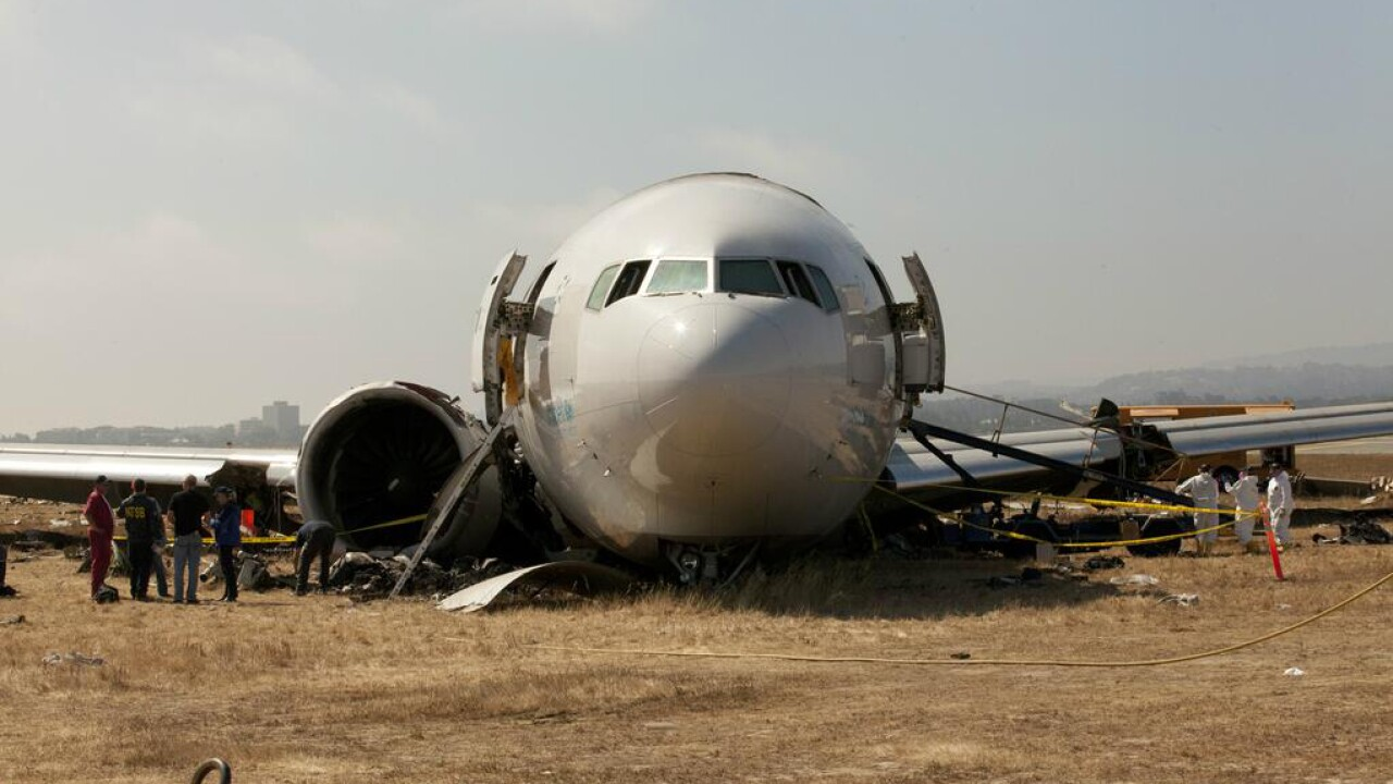 NTSB: Asiana jet pilot was halfway through training to fly Boeing 777