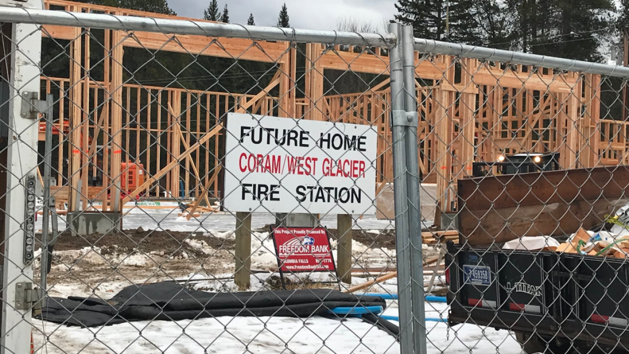 Coram West Glacier Fire Station