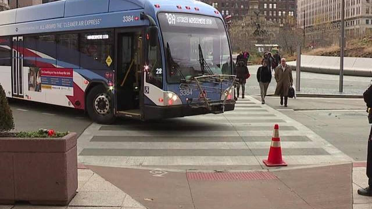 RTA bus driver fired for hitting pedestrian