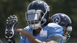Titans-Beasley's Debut Football