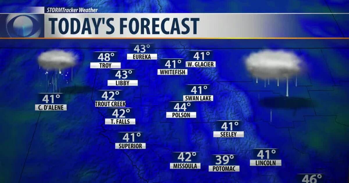 Weather Forecast: Mild weather along with rain/snow continues through the weekend