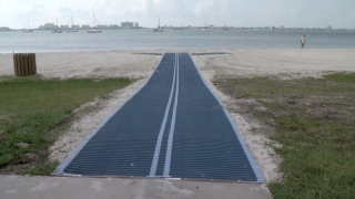 New Mobi-Mat making Pinellas County beach more handicap accessible