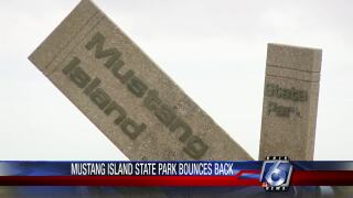 Mustang Island facilities are back after Harvey.
