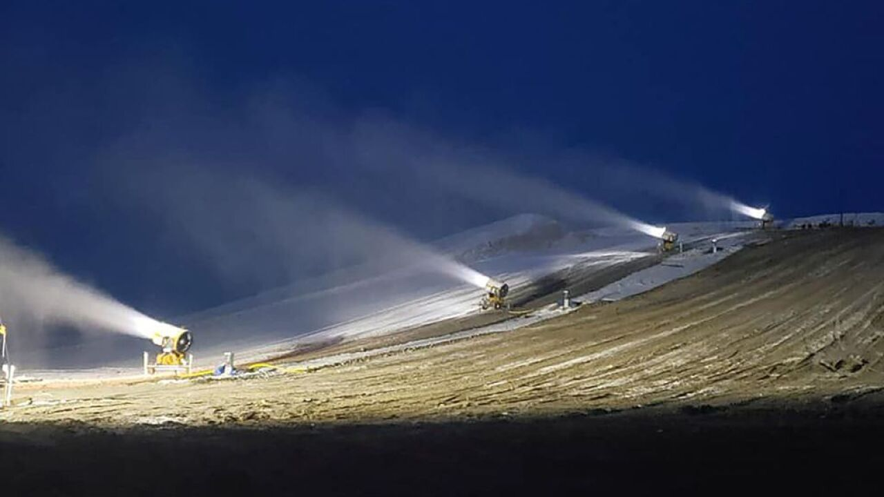 The Uintah County Commission has spent hundreds of thousands of dollars in federal CARES pandemic relief money to build the Buckskin Hills tubing hill, including $19,999 each for six snow guns, that opened Jan. 15, 2021.