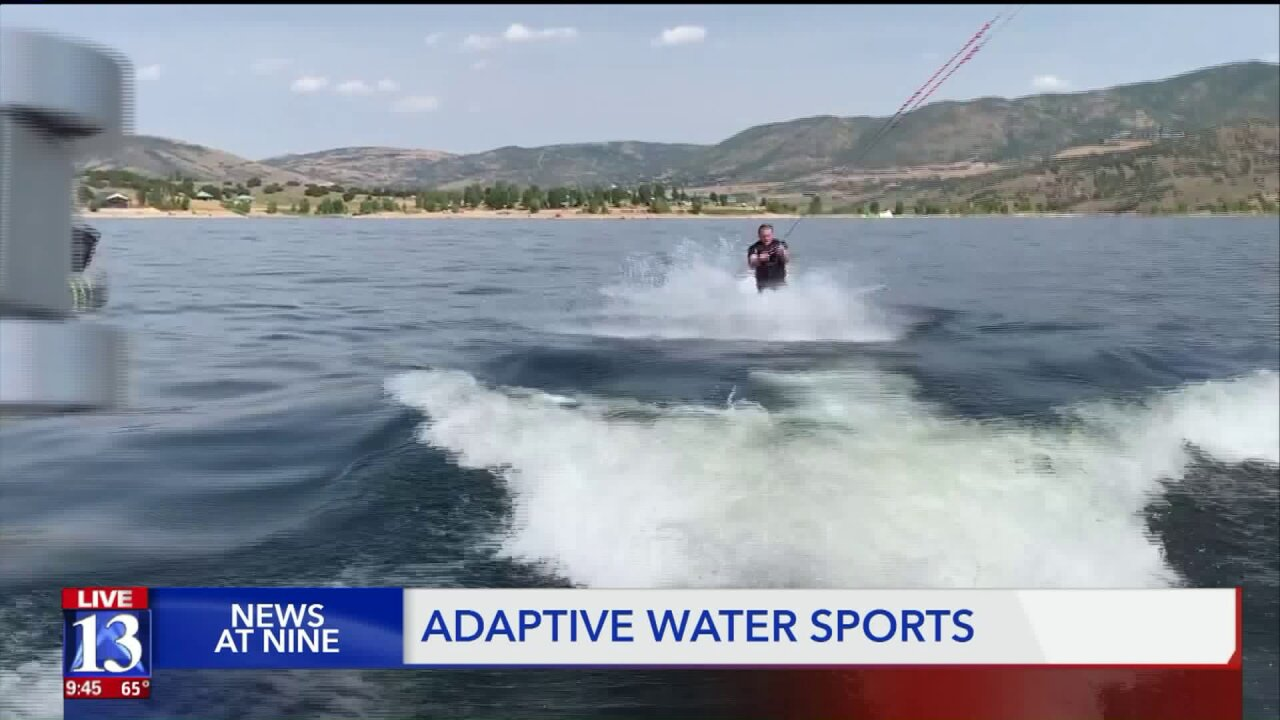 Utah Adaptive Sports Day equips amputees to hit the lake