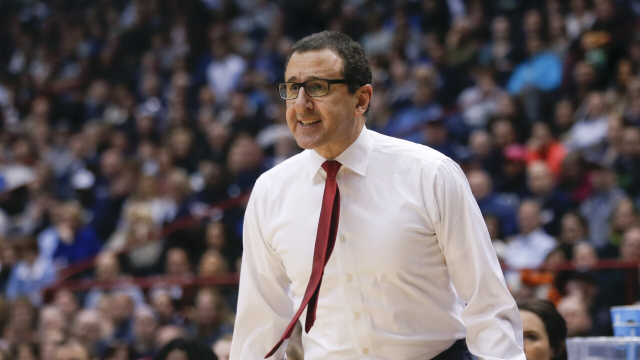 Jim Jabir, Dayton women's basketball coach in March 2015