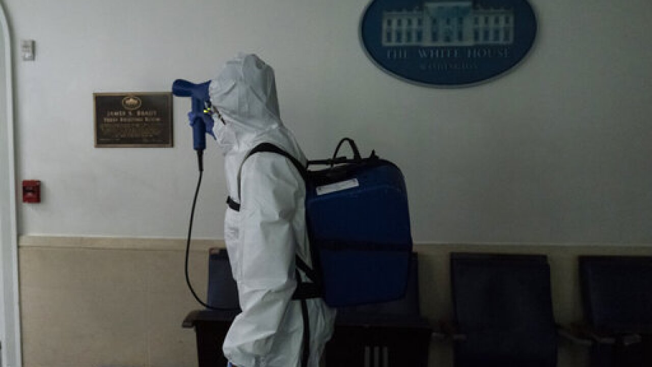 White House reporters encouraged to stay away due to coronavirus spread
