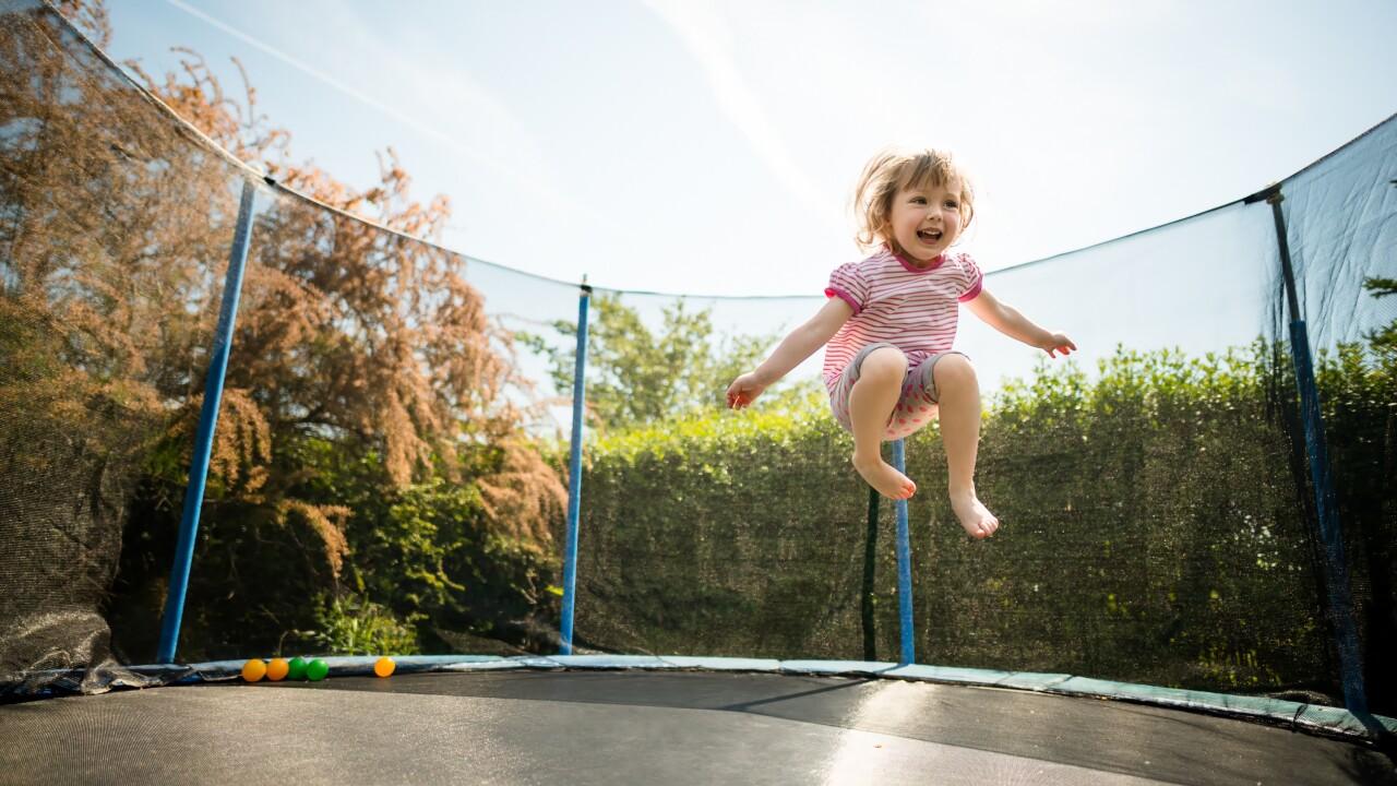 Backyard dangers: Trampolines