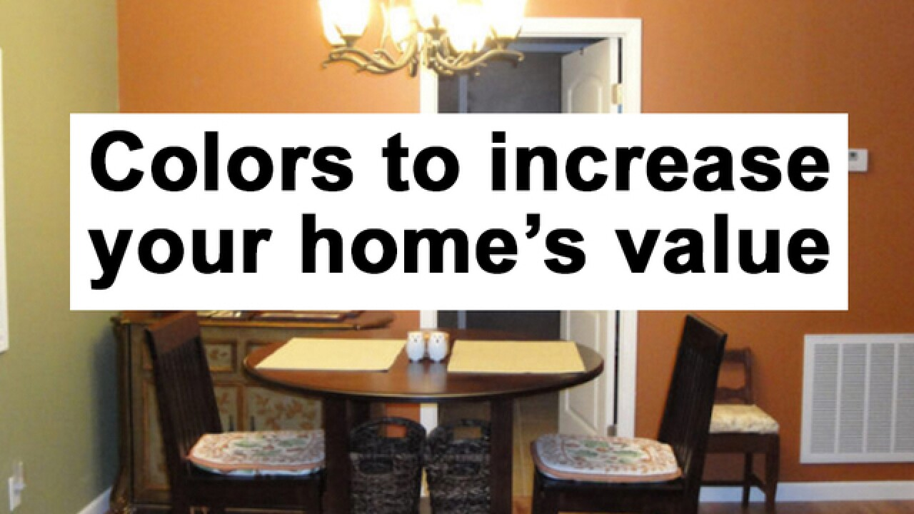 4 colors that decrease the value of your home