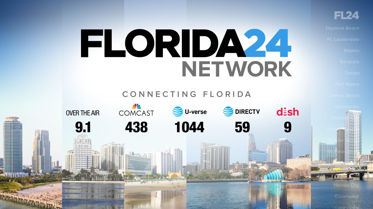 'Florida 24 Network' channel lineup