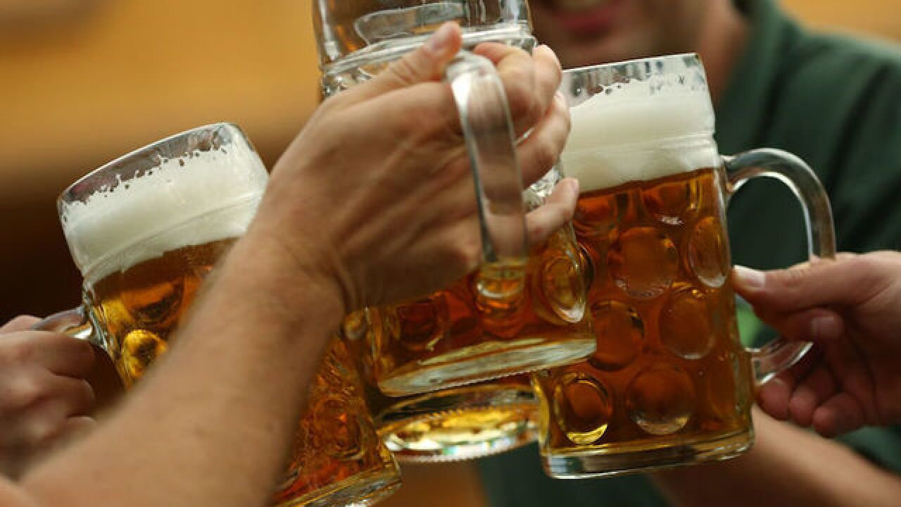 Climate change's next victim? Beer, study says