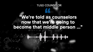 TUSD counselor reacts to TUSD modification in grading practices