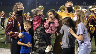 Stow family military surprise