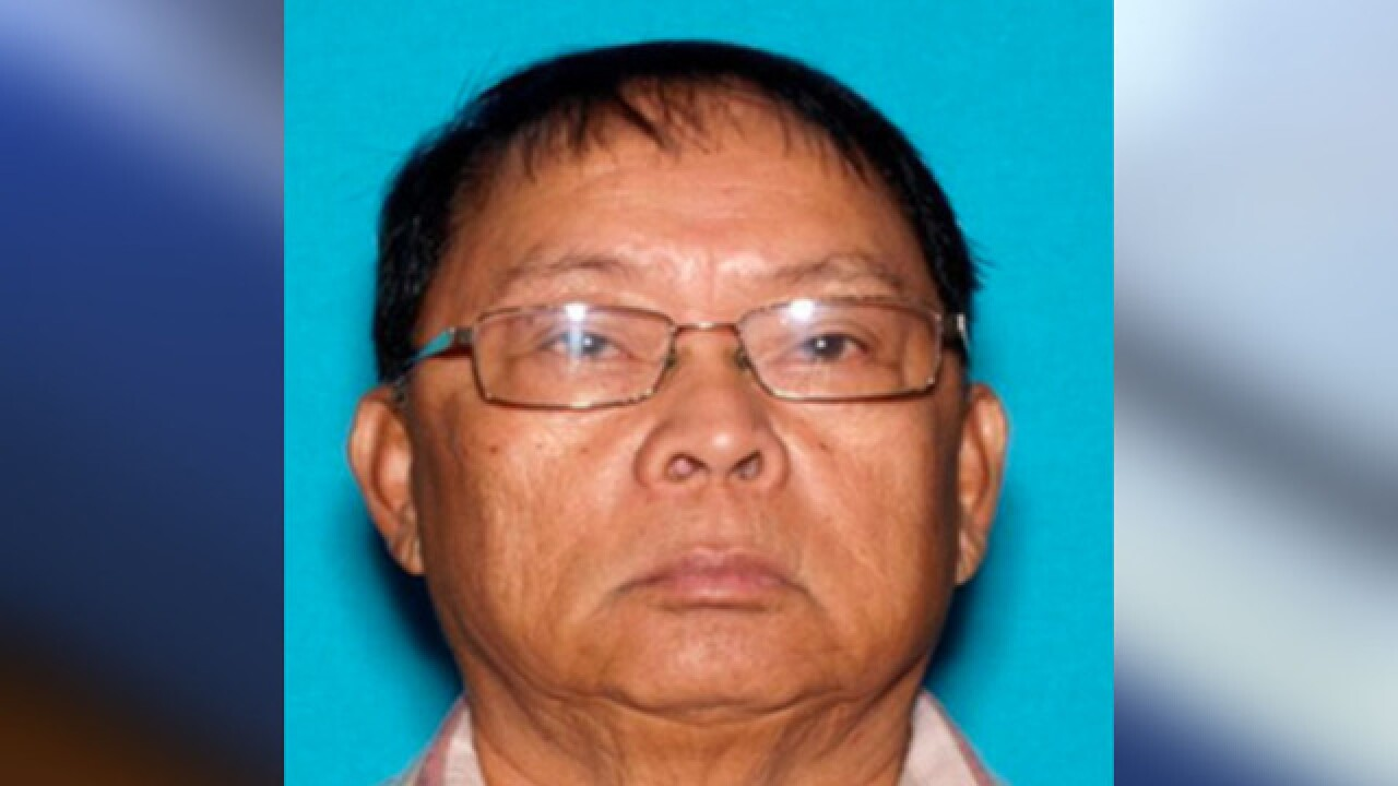 San Diego police search for missing 79-year-old man