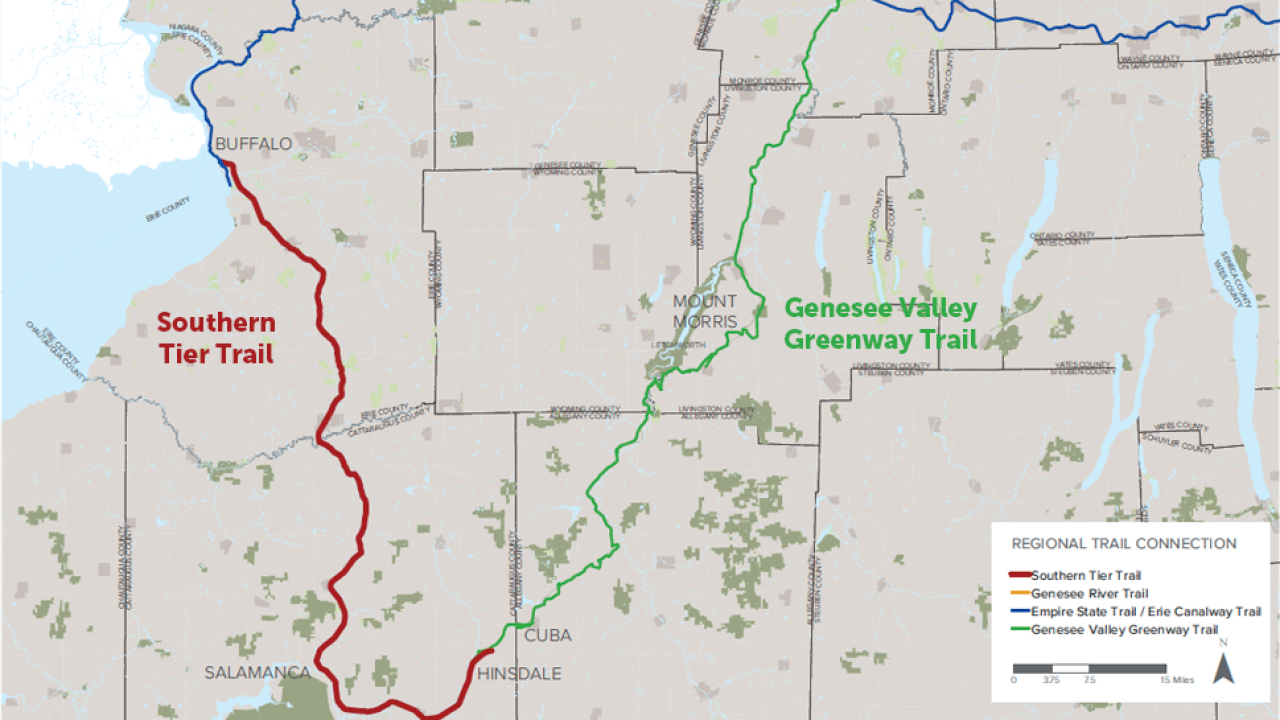 Proposed bike trail would connect Buffalo to Cattaraugus County
